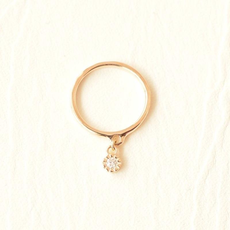 Diamond Ring  #5 #1(SNR-015dia)