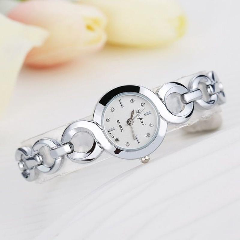 LVPAI レディース クォーツ腕時計 ファッションブレスレット