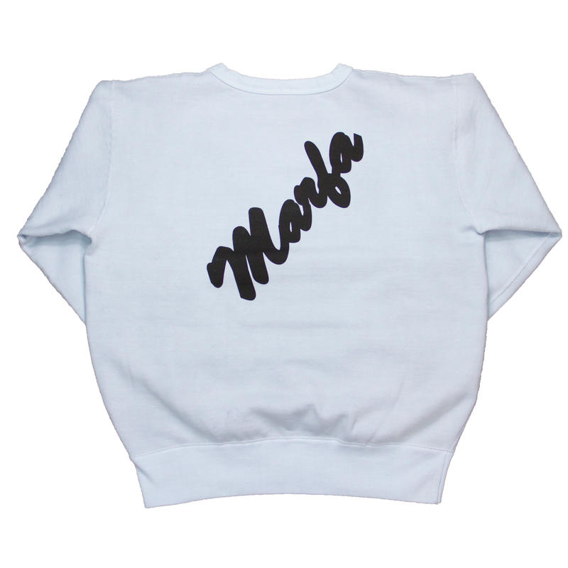 Marfa Titled Sweatshirt Dyed Ice JJJ Exclusive