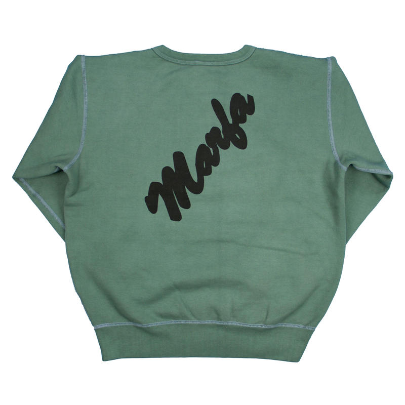 Marfa Titled Sweatshirt Dyed Bagodah Grey JJJ Exclusive