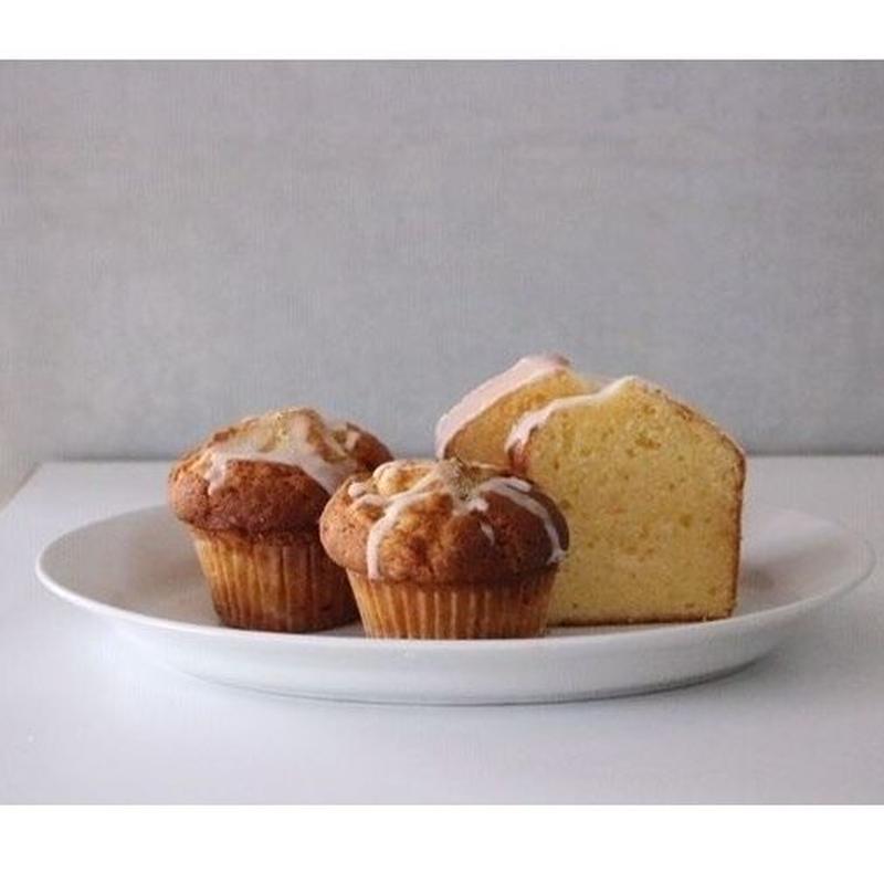 カモミールマフィンとレモンケーキのセット