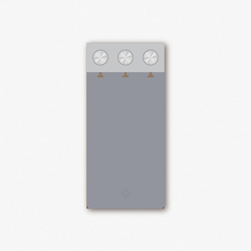 PALE TONE COVER SET D3 - GRAY(販売終了)
