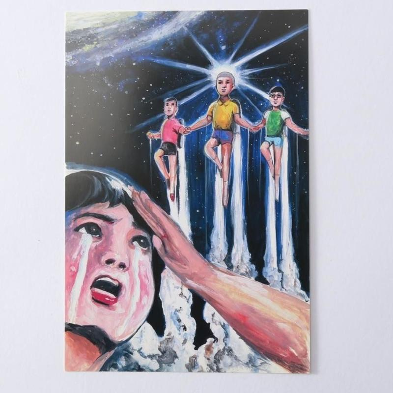 ポストカード「宇宙戦争」