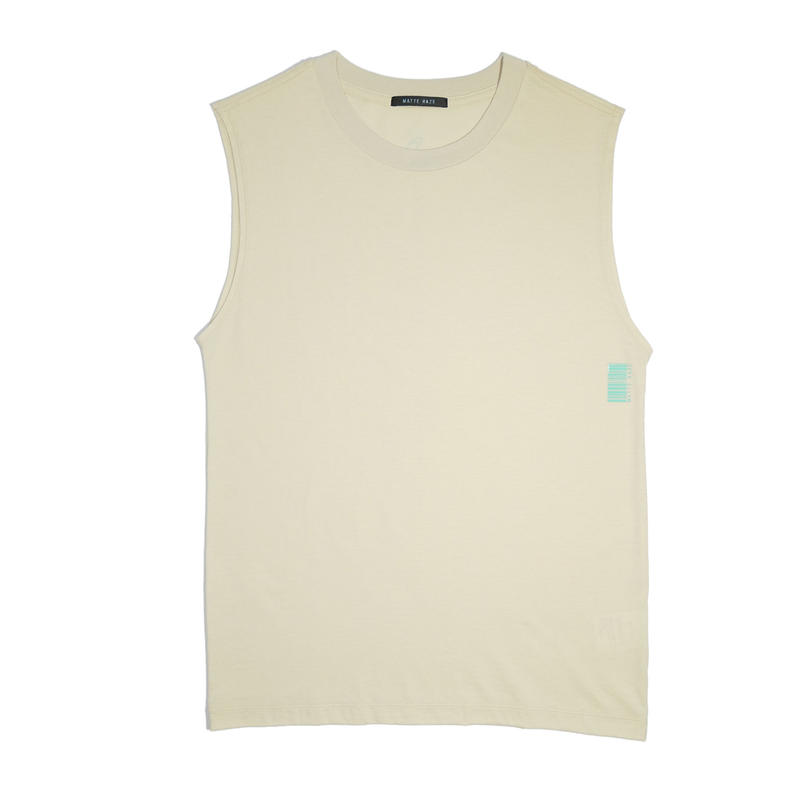GENTLE SLEEVE LESS TEE