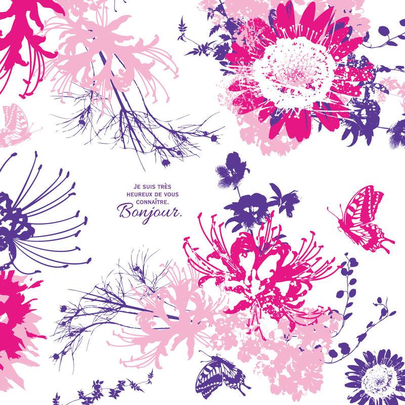 Flower Modern/ピンク