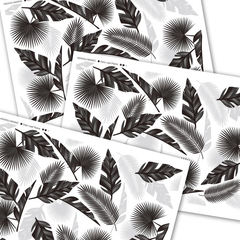 【3枚セット】カラーリーフプランツ/ブラック