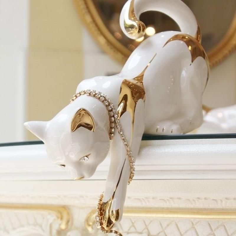 AHURA  子猫のオブジェA(High tail cat)
