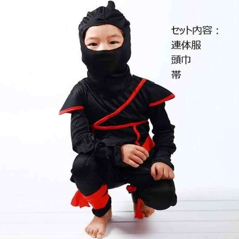 子供 忍者 コスプレ ハロウィン 仮装