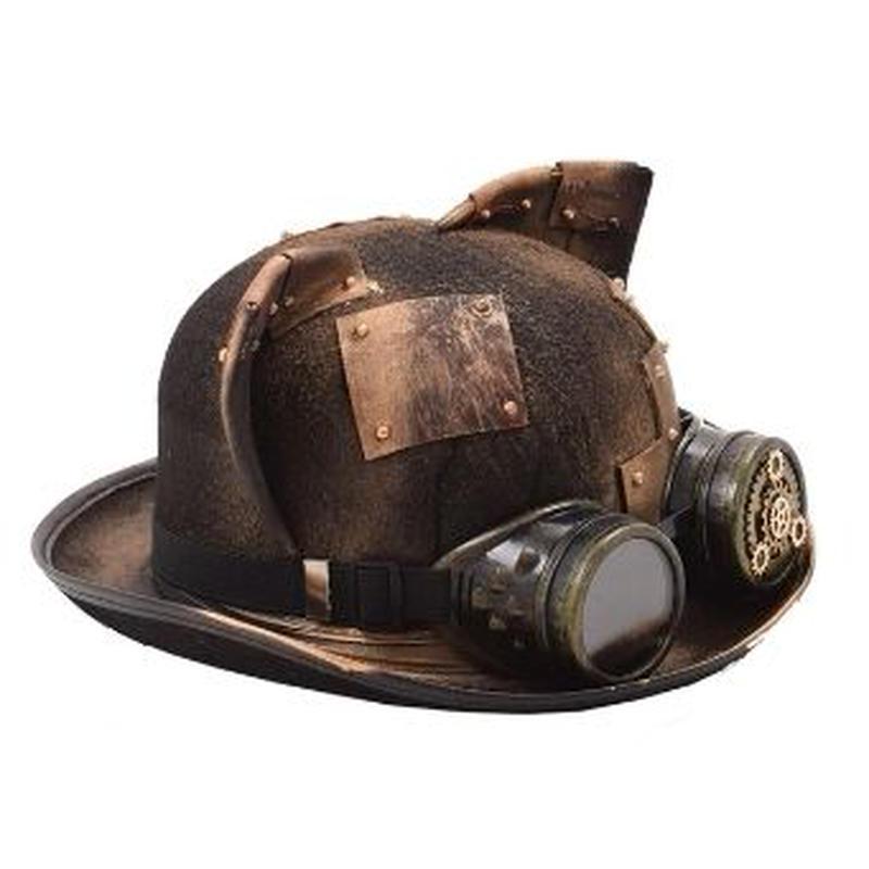 レトロロリータスタイルの女性の猫耳スチームパンク帽子