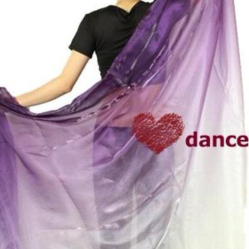 ベリーダンス衣装 グラデーションベール