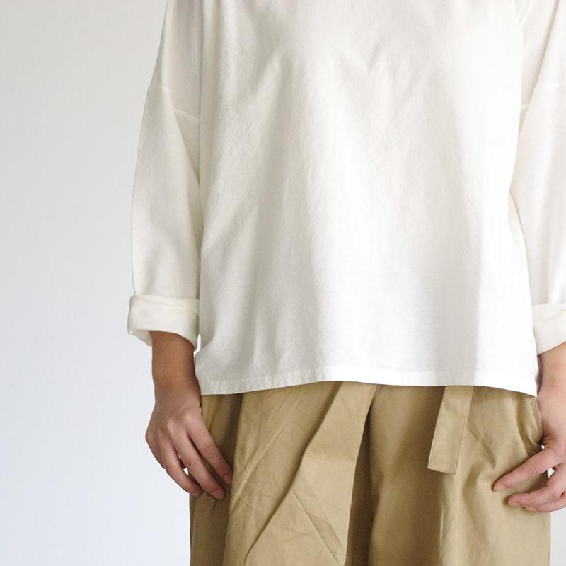 i c h i 180764 Cotton Pullover / White