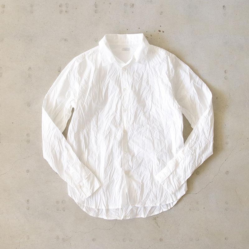 i c h i 181020 Cotton Shirts / White