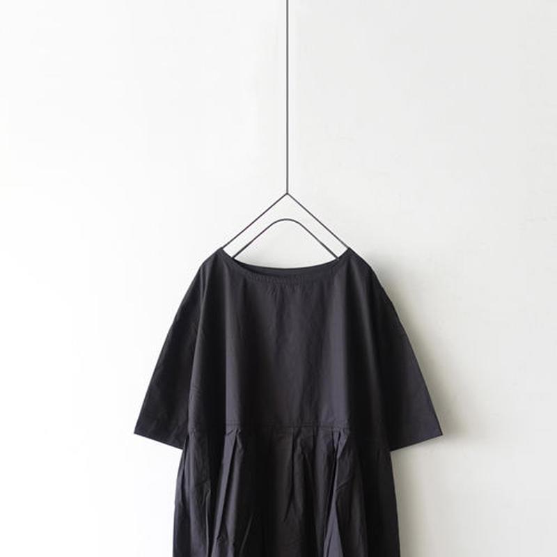 i c h i 190119 Cotton Typewriter Dress / Black