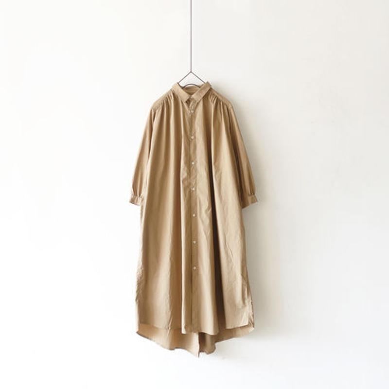 i c h i 190114 Shirts Dress / Beige