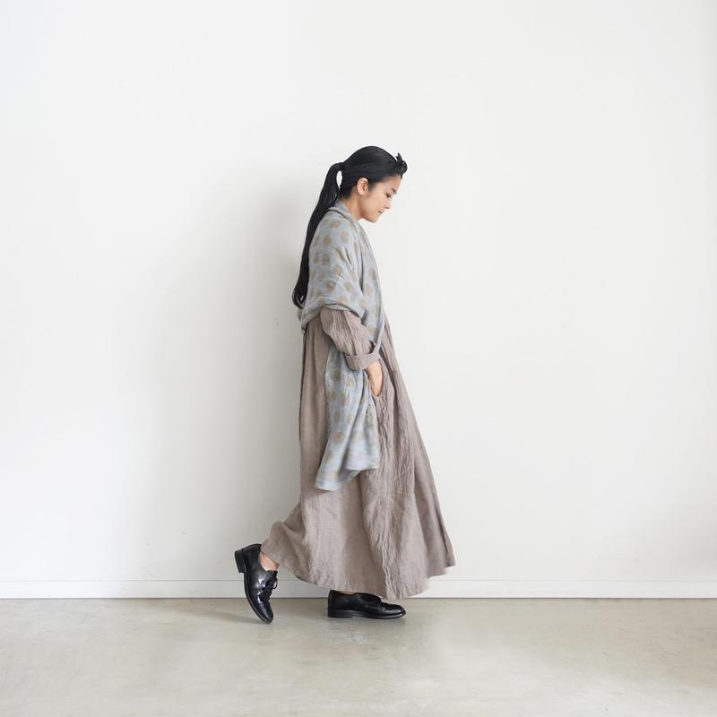 ichiAntiquités 500106 Linen Dress / GREGE