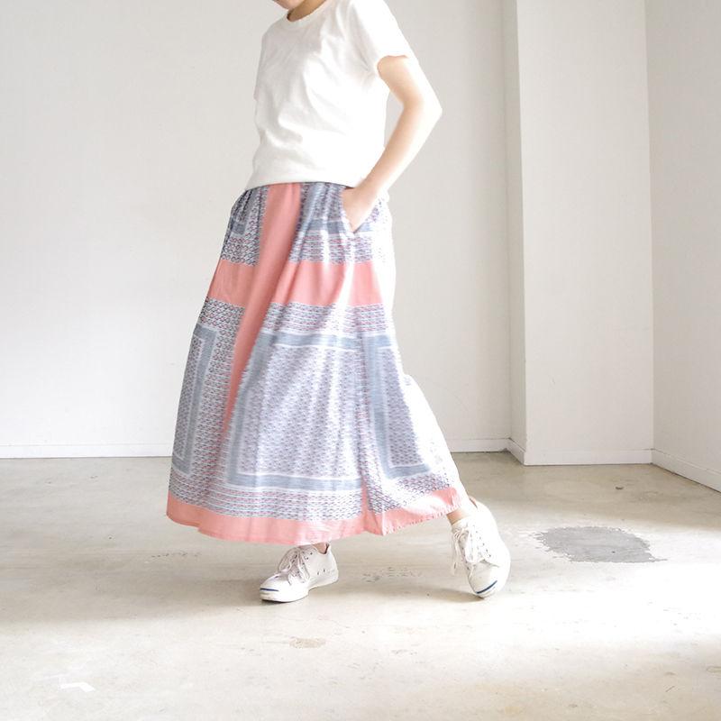 i c h i 190107 Bandanna motif Skirt