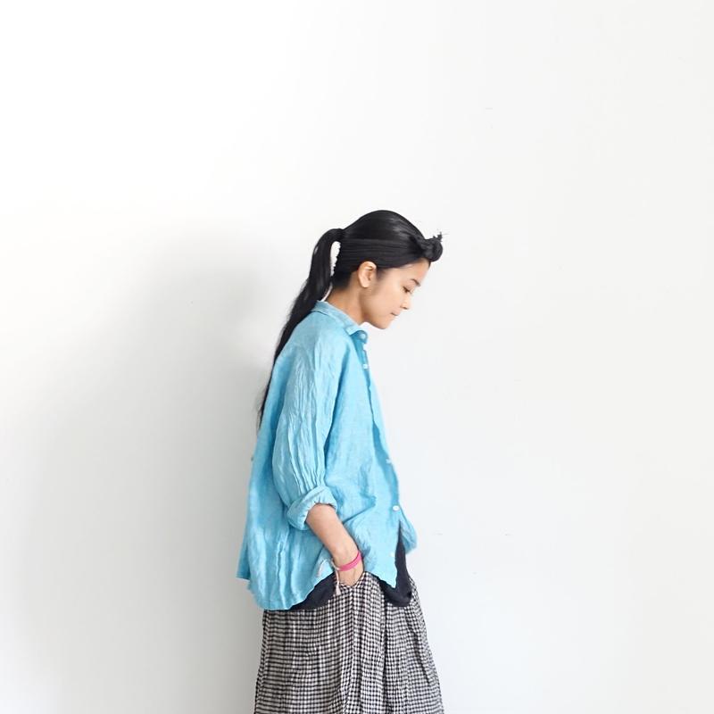 ichiAntiquités 500112 Color Linen Shirt / 3 COLORS