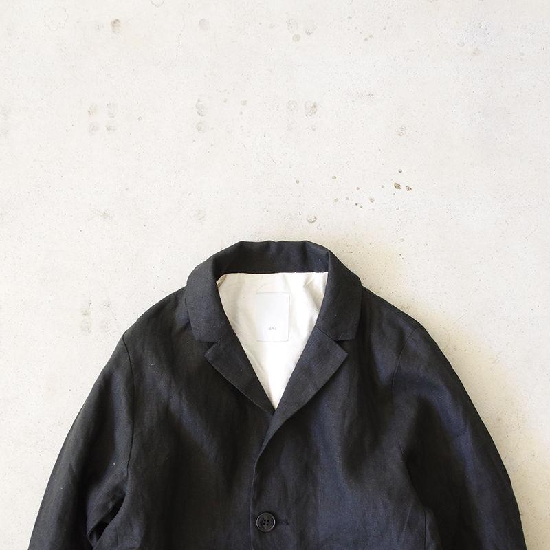i c h i 181035 Linen Jacket / Black