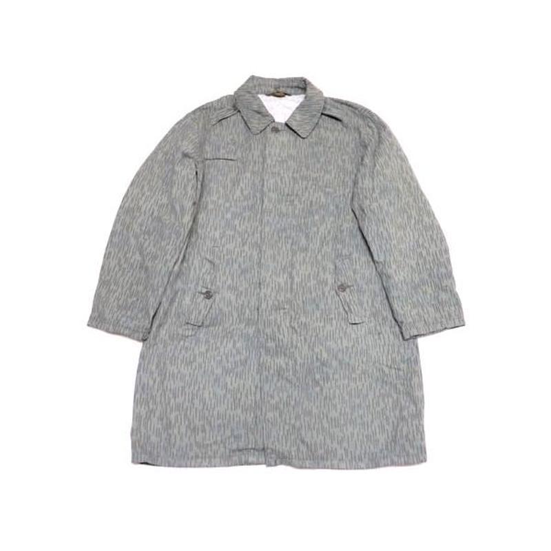 【チェコ軍】 70s レインカモ柄 コットンコート 珍種