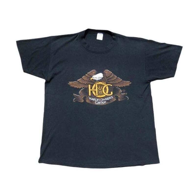 【ハーレーダヴィッドソン】 80s グッドプリント! Tシャツ Lサイズ