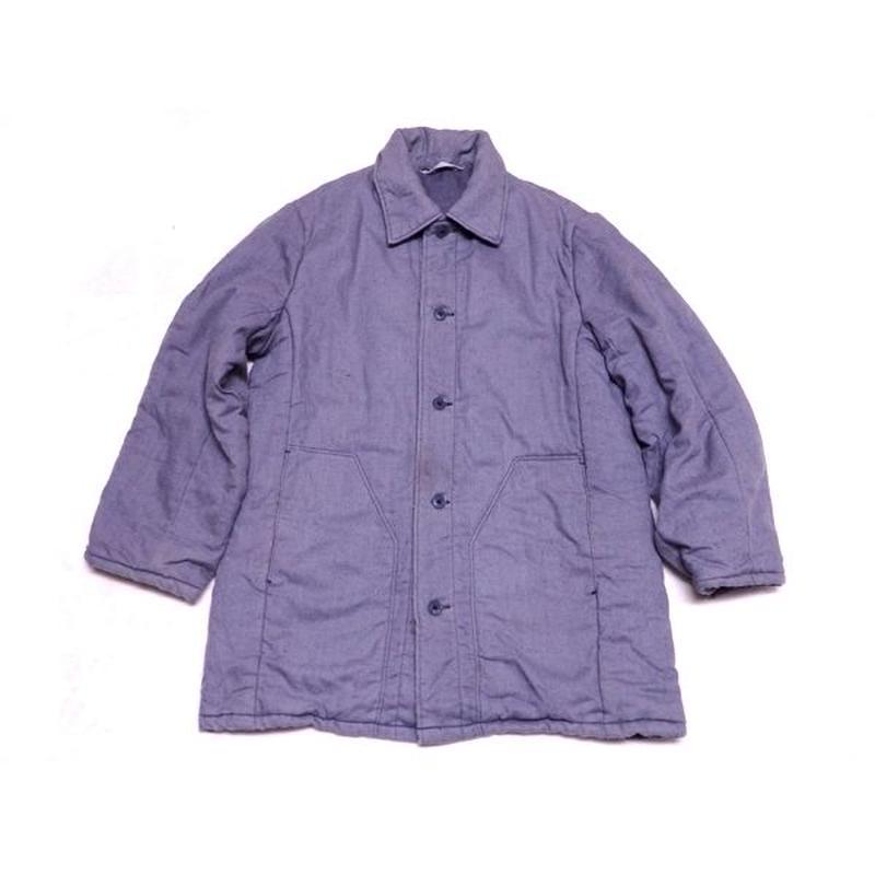 【ヨーロッパ古着】 中綿入り ワークジャケット グッドデザイン