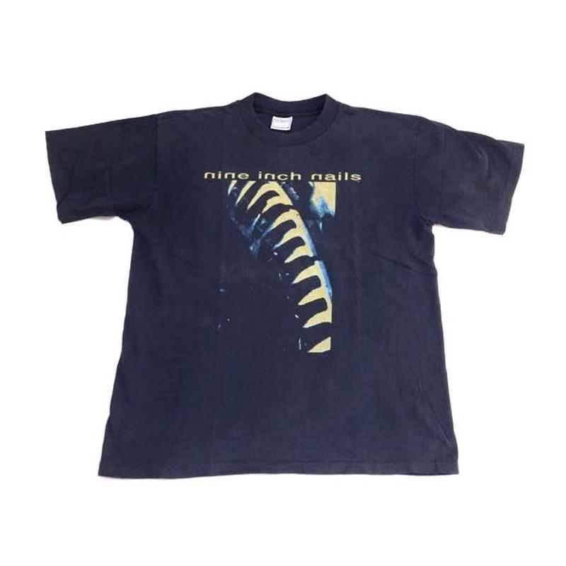 """【ナインインチネイルズ】 80s-90s """"Now I'm Nothing"""" Tシャツ XLサイズ! 超稀少!"""