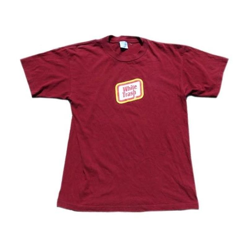 【アメリカ古着】 90s White Trash グッドプリント Tシャツ Lサイズ