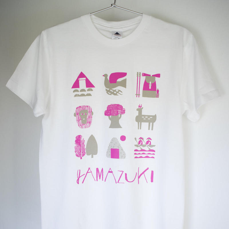 「Hello!屋久島」セット購入限定! 山好きTシャツ(ホワイト)