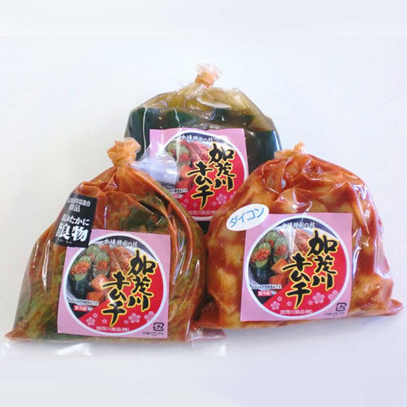 加茂川キムチ 定番セット