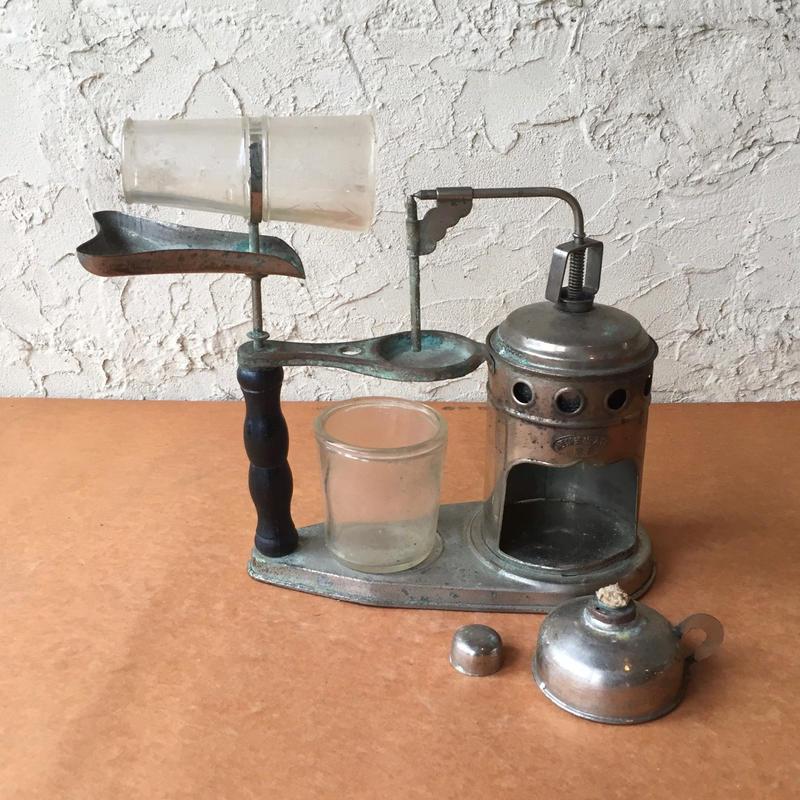 西川式完全吸入器 古道具 昭和初期 レトロ ケビント 実験 装置