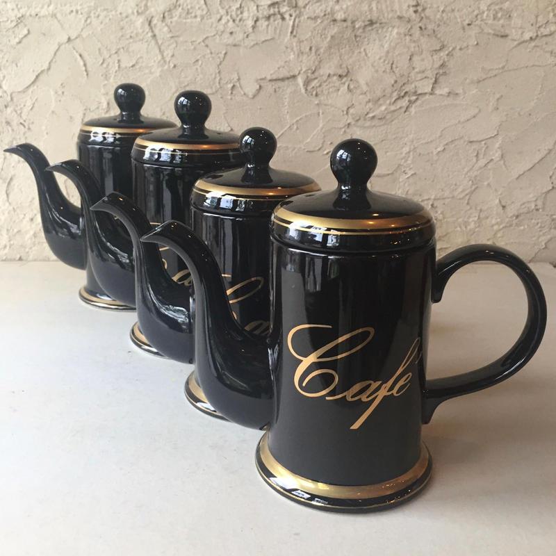 コーヒーポット カフェ デッドストック 新品 絶版品 Sサイズ