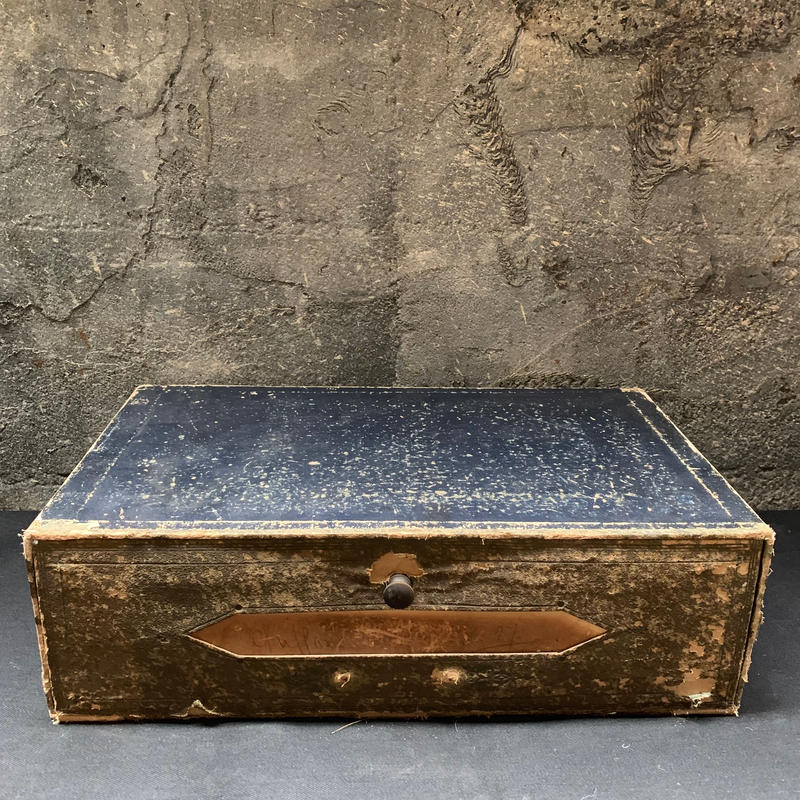 England Antique ファイリング ケース ボックス シャビー 収納 什器
