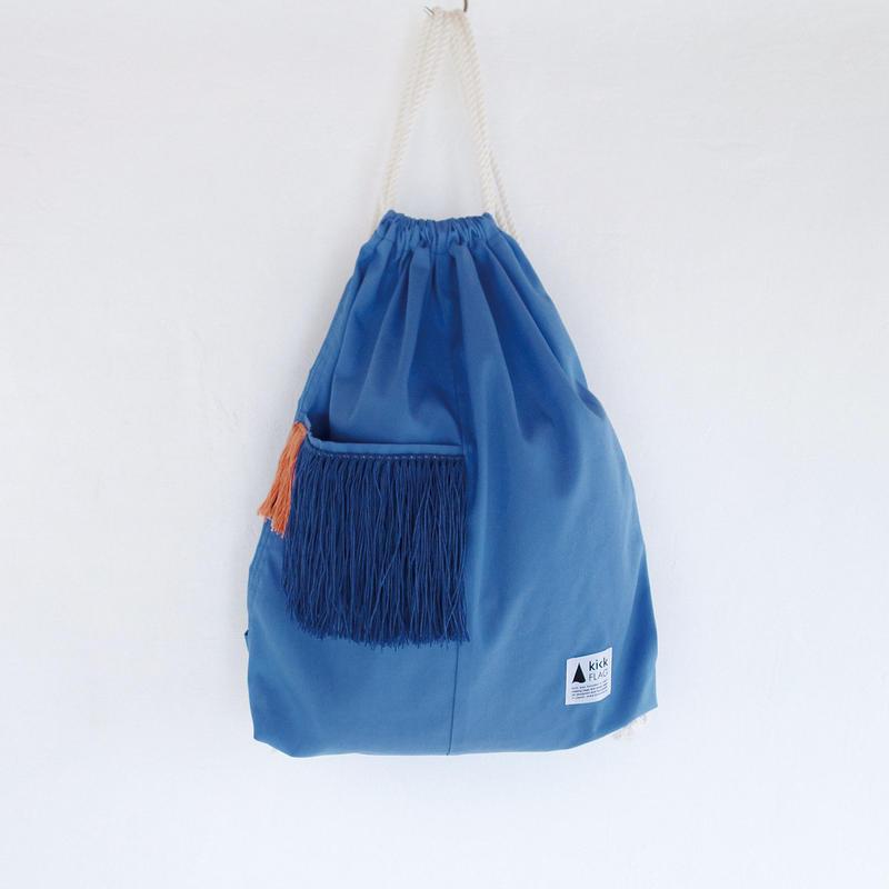 hairy knapsack(ブルー)