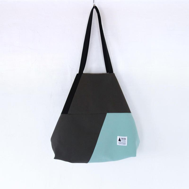 flag bag(ダークグレー・ミント)