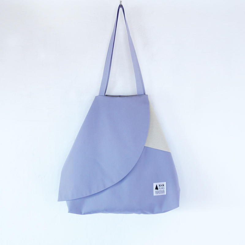 flag bag / ks(ペールパープル・クリーム)