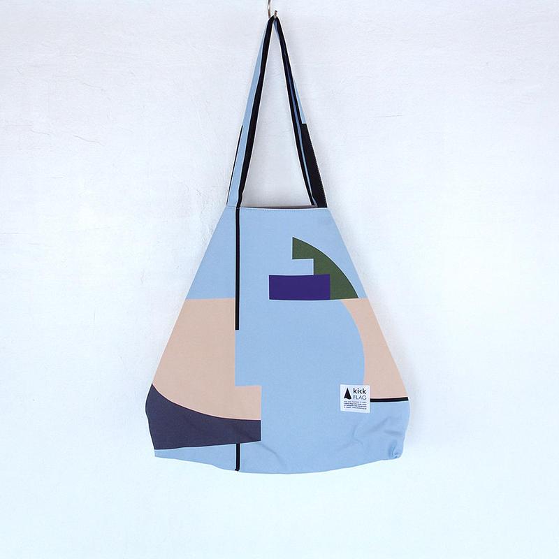 flag bag(Interval:ペールブルー)