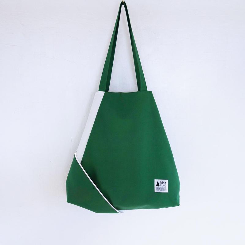 flag bag(グリーン・ホワイト)