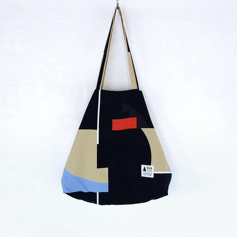 flag bag(Interval:ブラック)