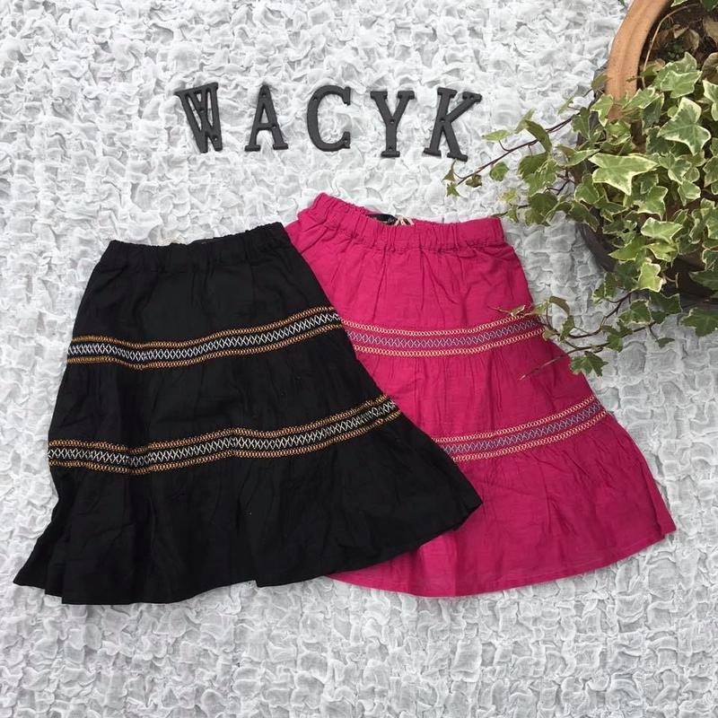 刺繍ティアードスカート/GrannyBranket'19SS/2917502
