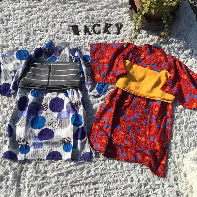 浴衣ロング JAPANESE POP/Ocean&Ground'19SS/1912703