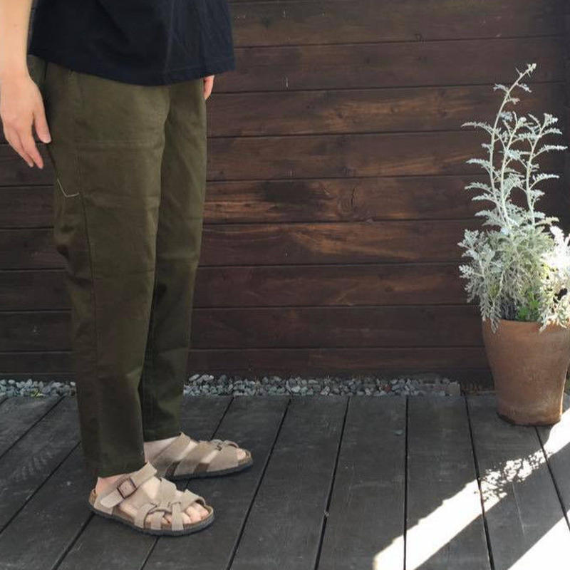 Cotton Twill Strech Pants/ nachukara'19SS/nk-22888