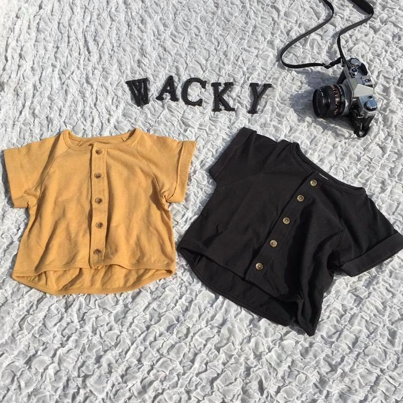 SHORT SLEEVE CREW CARDIGAN/Ocean&Ground'19SS/1936302