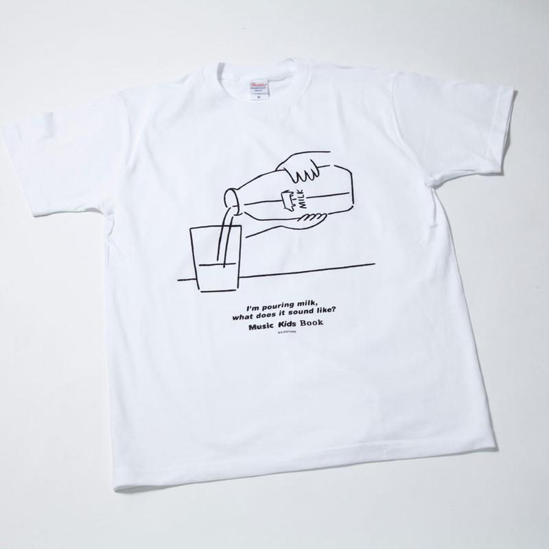 MKBミルク柄Tシャツ(KIDS 100/130)