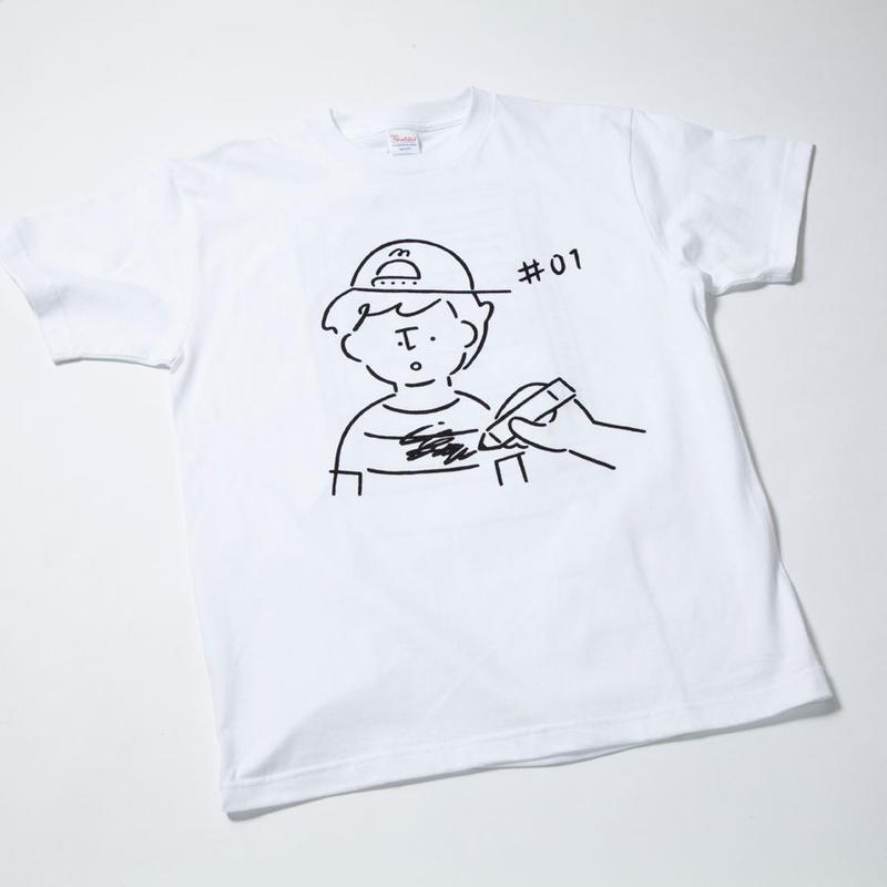 MKB表紙柄Tシャツ(KIDS 100/130)※裏プリントあり