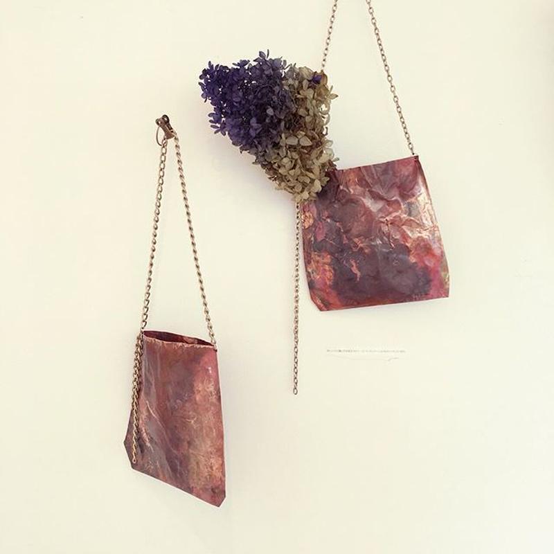 Pochette for dry flowers  (Copper)