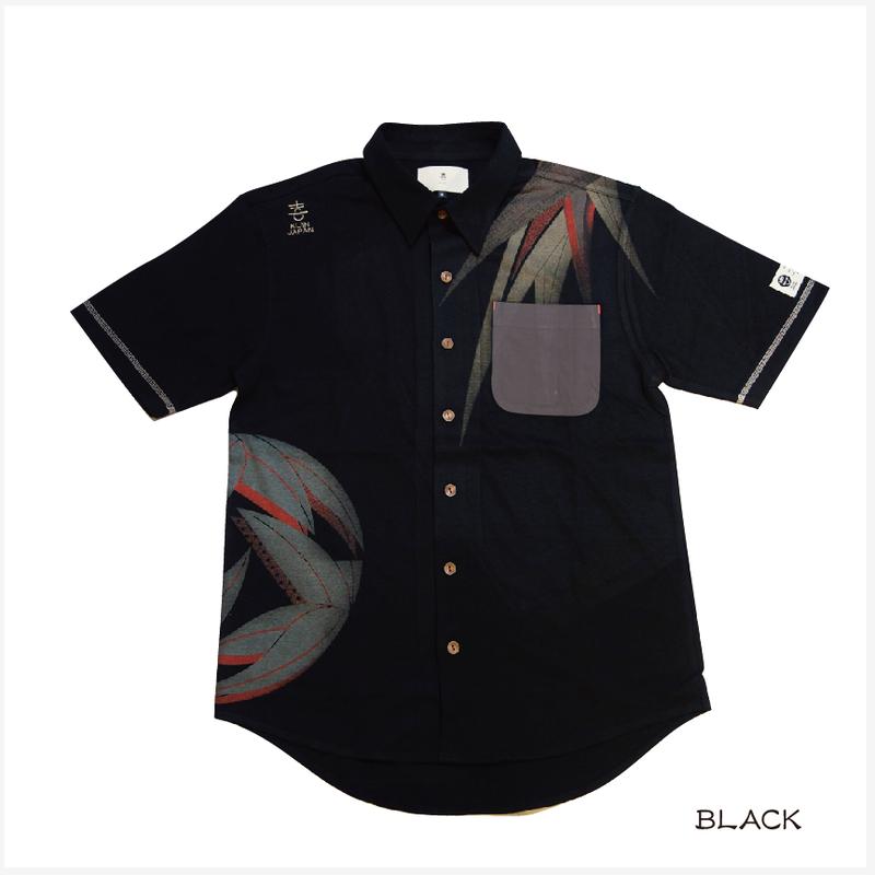熊笹のカットシャツ KJ91405