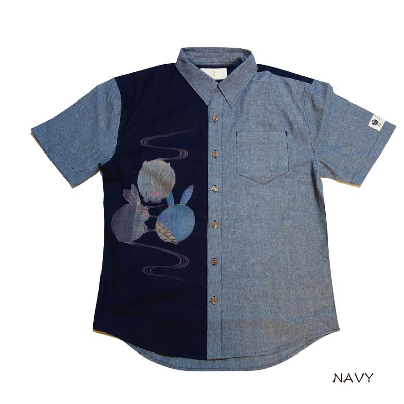 ウサギ3兄弟のシャツ KJ91402