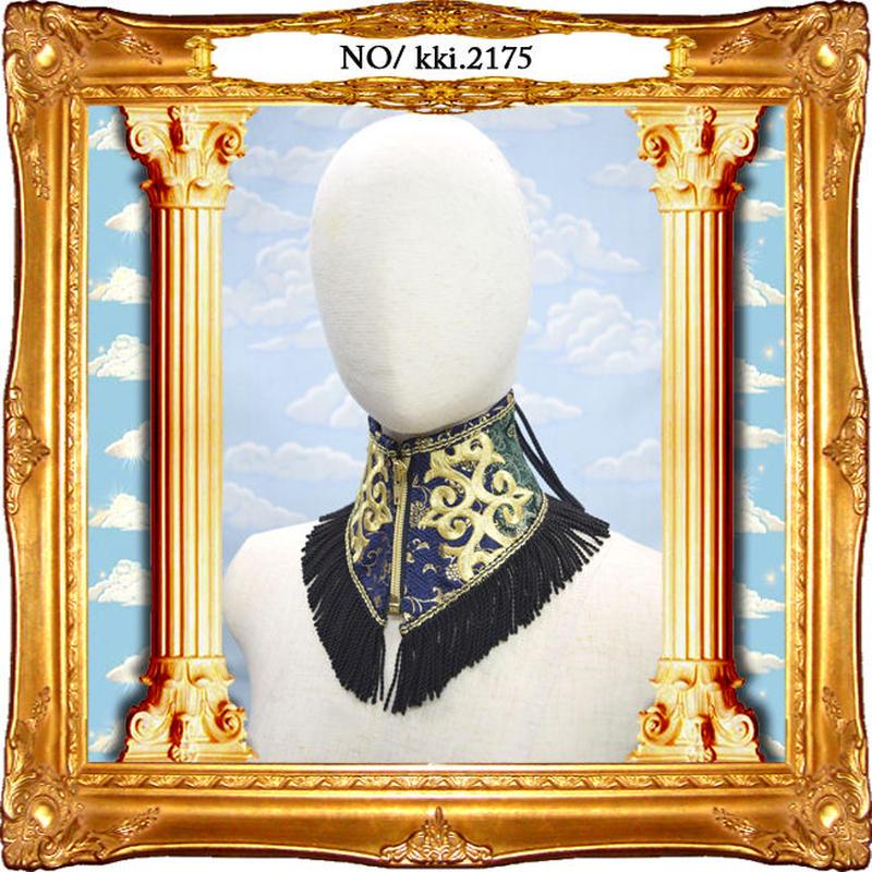kki.2174 チャイナジャガード皇帝ネックコルセット。
