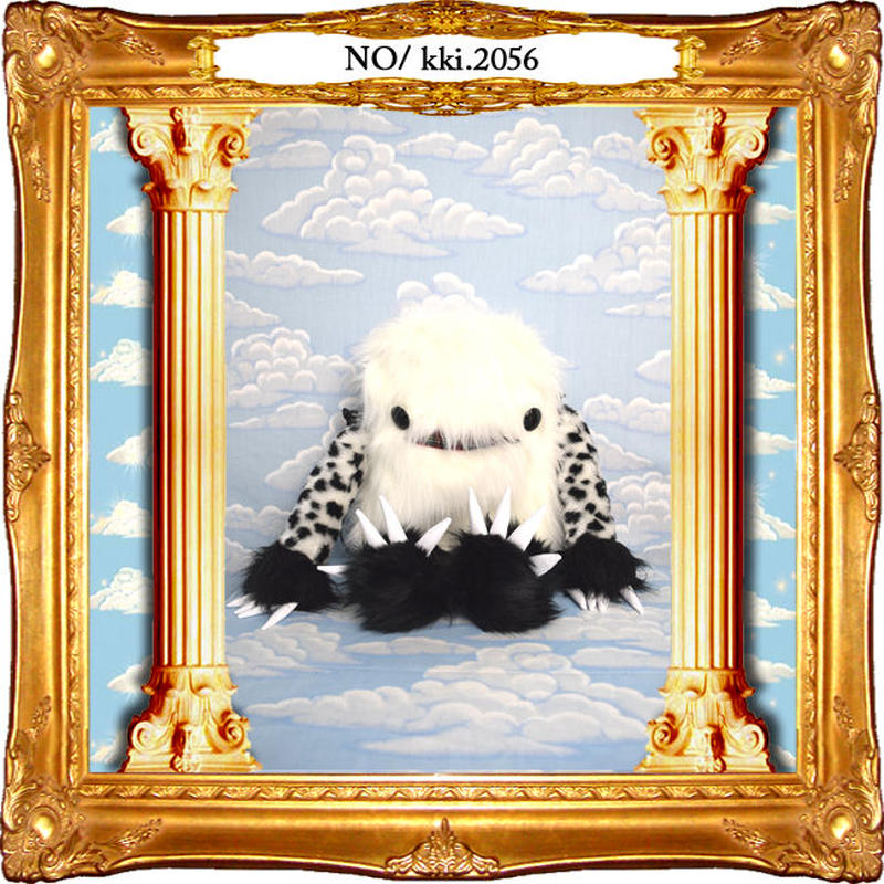 kki.2056 ナニモノちゃんラウンドファスナーショルダーBAG。