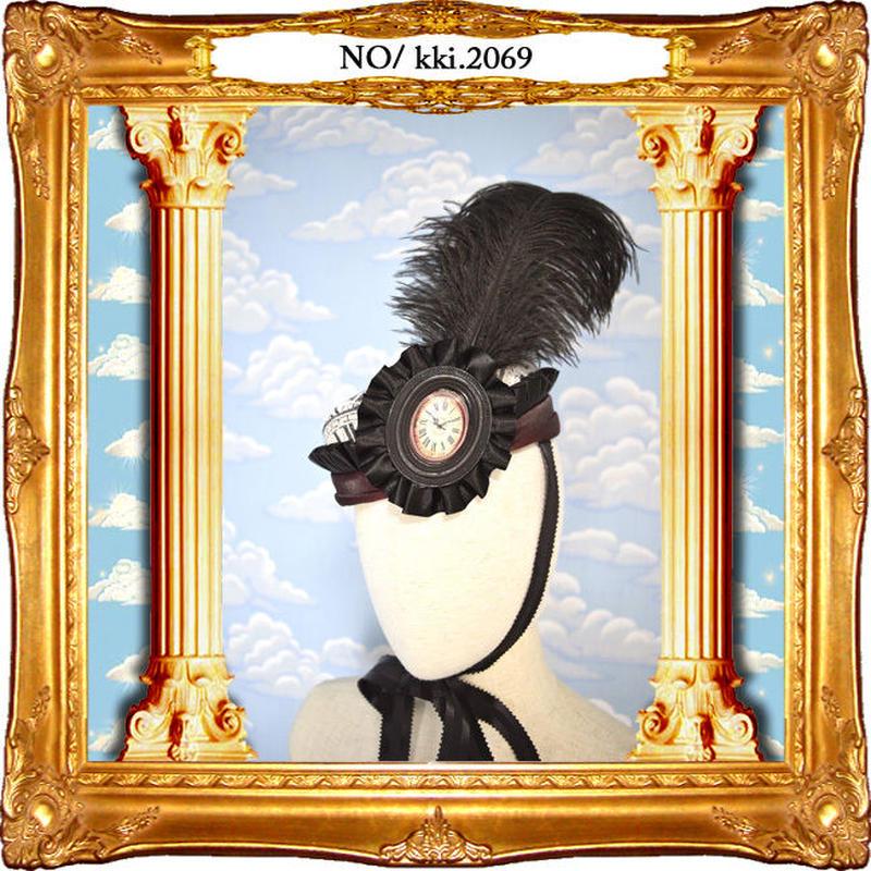 kki.2068 を刻むトークHAT。<ブラック